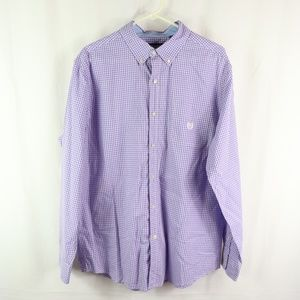 CHAPS EASY CARE MENS SHIRT SIZE XL